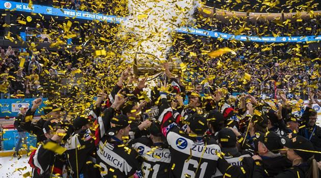 HC Ajoie vainqueur de la coupe de suisse de hockey